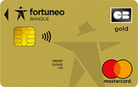 carte mastercard gold fortuneo