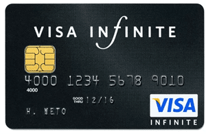 Carte Visa Infinite