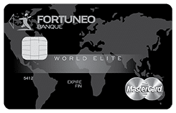 world elite mastercard fortuneo