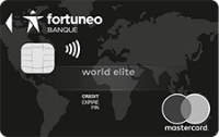 carte world elite mastercard fortuneo