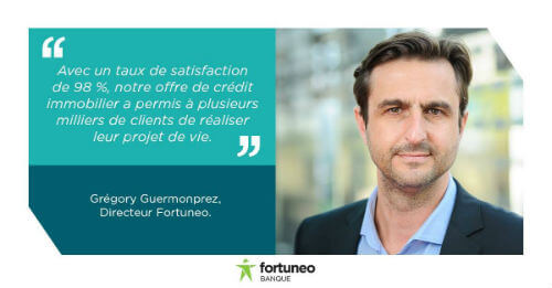 credit immobilier fortuneo