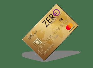 Carte zéro carte de crédit